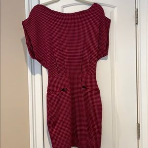 French connection houndstooth dress